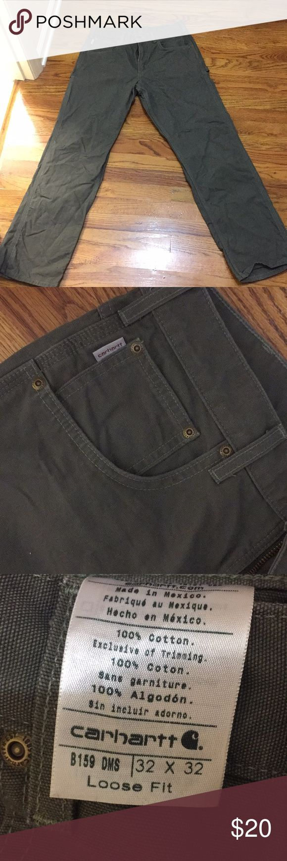 Carhartt pants 32x32 like new These pants are like new I did not like the way they fit when I got them Carhartt Pants Chinos & Khakis