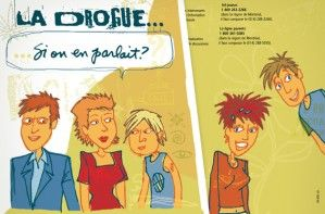 Illustration - Brochure «La drogue, si on en parlait?»