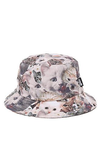 Neff Supper Shredder Bucket Hat - Mens Backpack - White Tan - One Size   28.00  a59a707f424