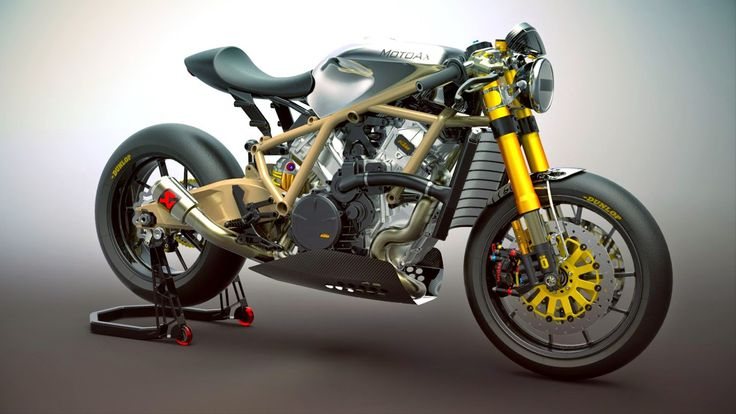Ottonero Cafe Racer: RC8 - MotoAx