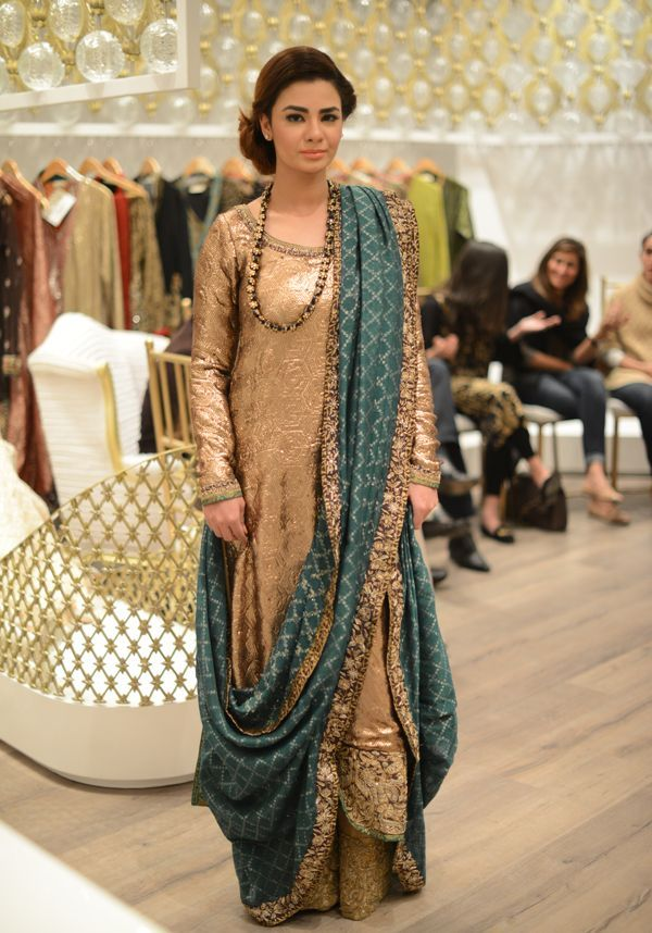 Nida Azwer's Hand Embroidered Shawls