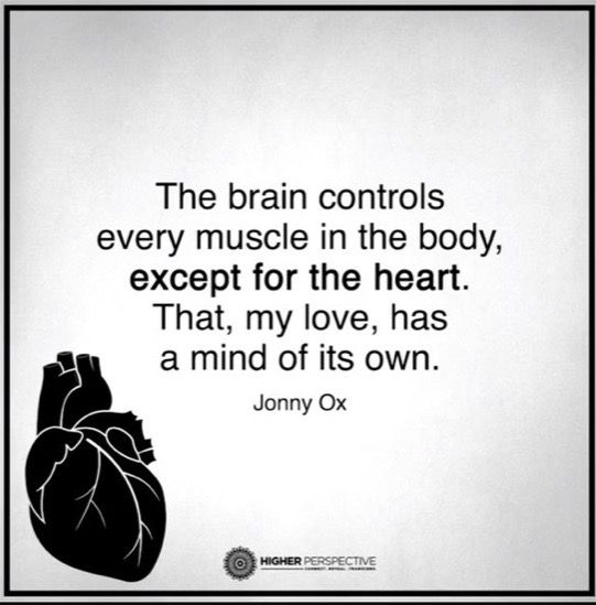 Can T Find Love Quotes: The Brain Controls Every Muscle In The Body, Except The