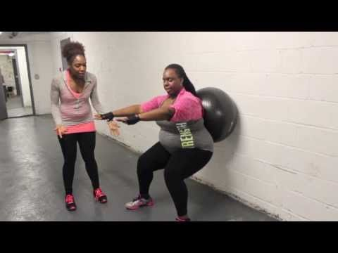 How Can I Do Squats with Bad Knees? | Plus Size Workouts | Weight Loss | Healthy Curves - YouTube