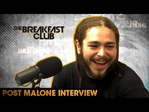 Post Malone Chats About Touring With Justin Bieber & Exploring Different Genres of Music - YouTube