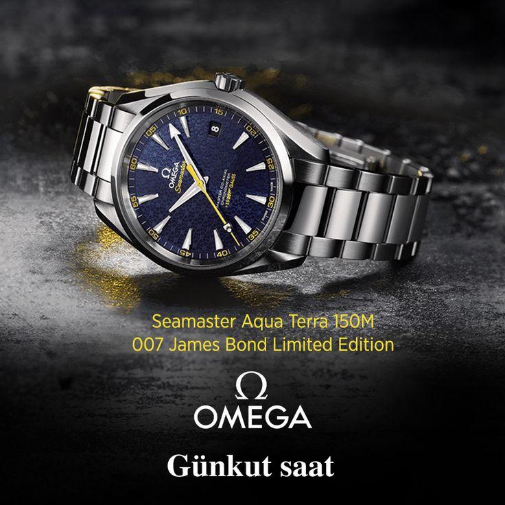 Limitli üretimiyle 007 James Bond koleksiyonu Günkut Saat'te…  http://bit.ly/omega-seamaster-james-bond