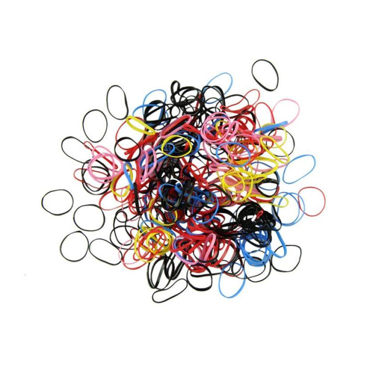Elastische Haarbänder Hochwertigem Gummi Haarband Seil Pferdeschwanz Inhaber Elastisches Haar-band Krawatten 2017 Vicky