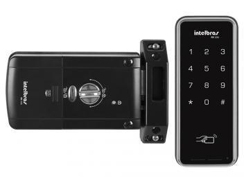 Fechadura Digital Intelbras FR 200 - 2 Opções de Acessos e Teclado Touch
