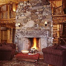Cool Natural Stone Fireplace Design 11 For Interior Designing Home Ideas  with Natural Stone Fireplace Design