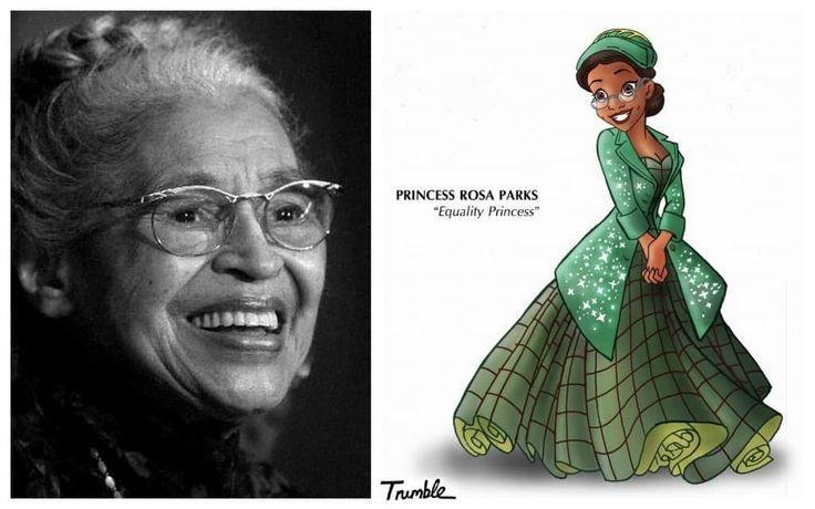 Veja quem são elas Princesa-Rosa-Parks-1024x640