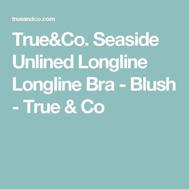 True&Co. Seaside Unlined Longline Longline Bra - Blush - True & Co