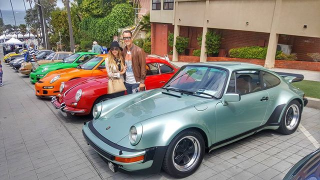 • In car enthusiasts heaven 🚘 • #porsche #classics #carshow #lajolla #concoursdelegance #sundays #lajollalocals #sandiegoconnection #sdlocals - posted by Aimée Crafton  https://www.instagram.com/aimee_crafton. See more post on La Jolla at http://LaJollaLocals.com