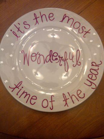 Sharpie plates!