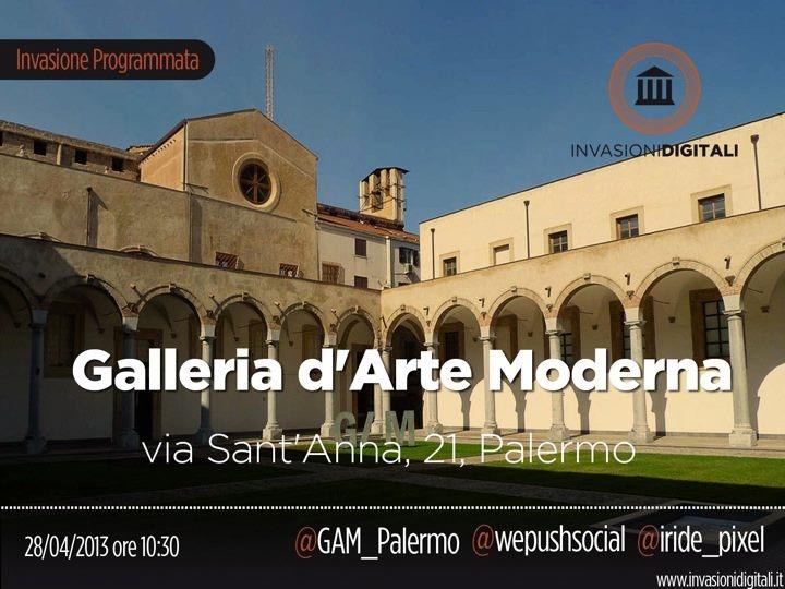 Quando: Domenica 28 Aprile 2013. Dove: via Sant'Anna, 21 #Palermo. Cosa: invasione - #GAMinvasion. Chi: @PUSH. e @Invasioni Digitali. Perché: #liberiamolacultura