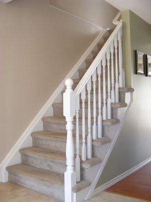 Painted stair railings                                                                                                                                                                                 More