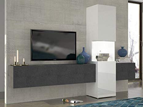 tecnos wohnwand mediawand wohnzimmer schrank fernseh schrank tv lowboard