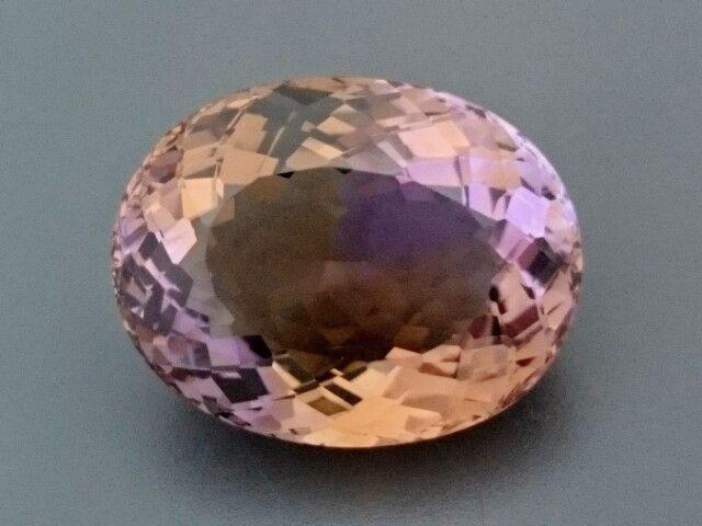 CERT 35.08ct Natural AMETRINE Gemstone   NATURAL AMETRINE GEMSTONE FROM GEMROCKAUCTIONAUCTIONS.COM