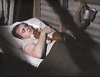 Sleep Tight, Radar... (M*A*S*H). Radar O'Reilly (aka Gary Burghoff) with his Teddy.