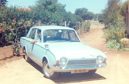 Ford Corsair.  The car my dad drove in Rhodesia.  You knew you were in Africa because the car radio had Short Wave on it in addition to Long Wave and Medium Wave.  A decent car.