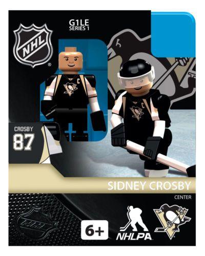Pittsburgh Penguins Sidney Crosby OYO NHL Hockey Mini Figure Lego New | eBay US $12.99