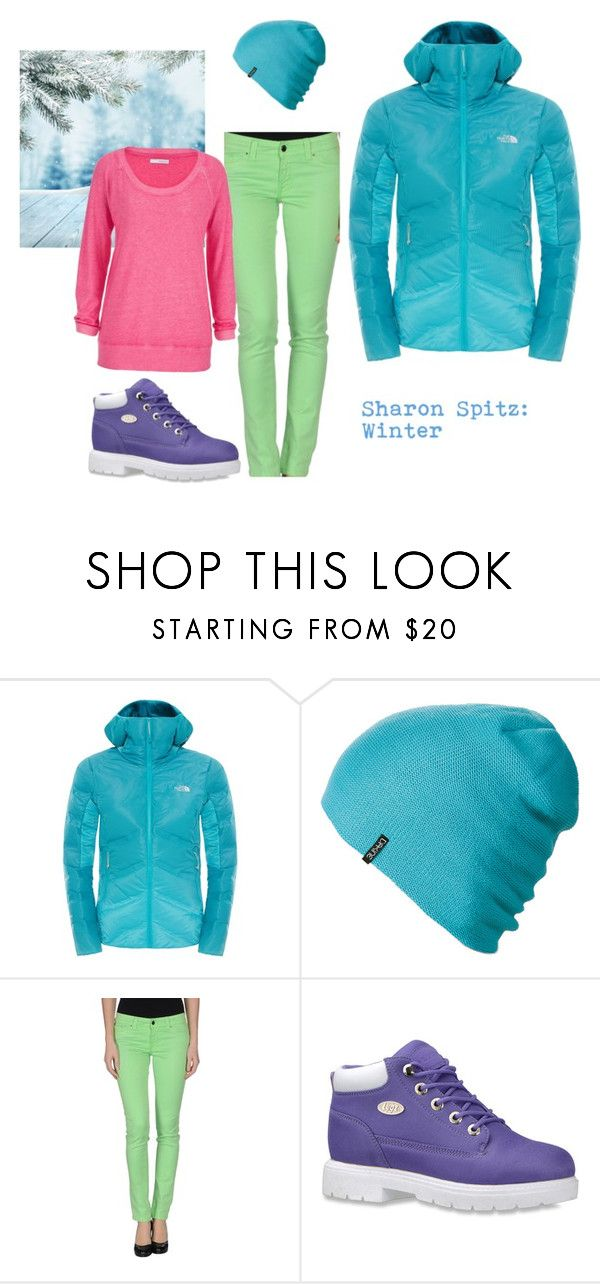 """Sharon Spitz: Winter"" by diana-bacircea ❤ liked on Polyvore featuring The North Face, Dakine, S.O.S By Orza Studio, Lugz and maurices"