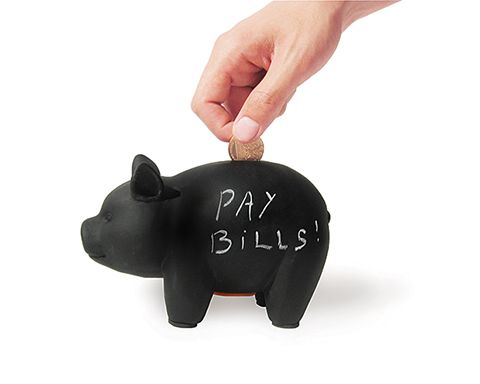 CapitaLIST Pig chalk board piggy bank - 17€ Luckies