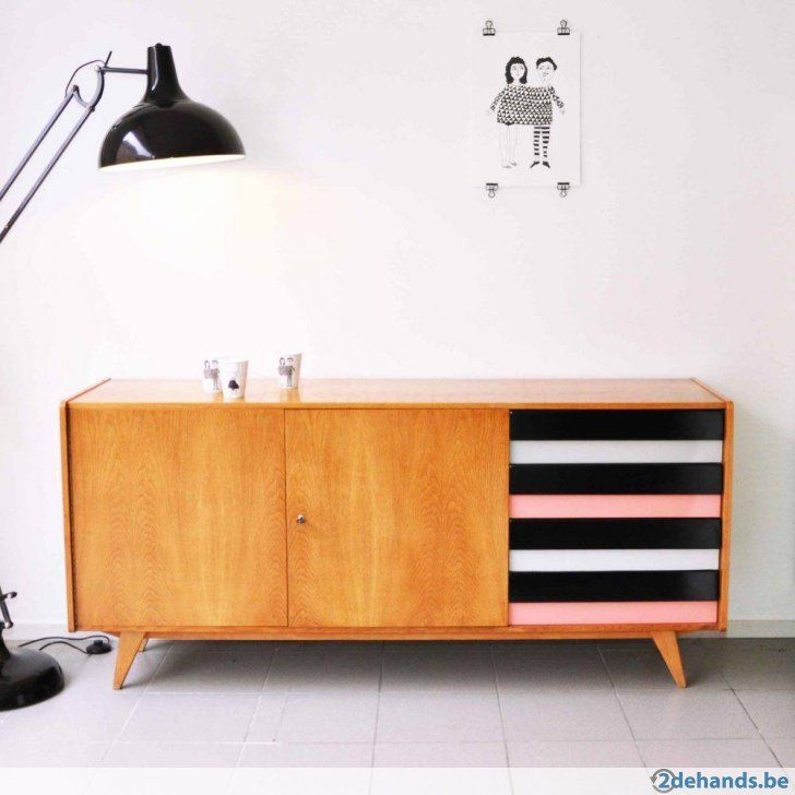 http://www.huisvanmarcel.com/ Vintage dressoir // Jiri Jiroutek // Vintage Design // 1960