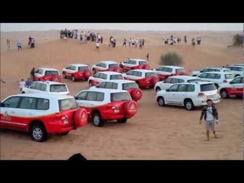 Tour in Dubai UAE - Dune Bashing Desert Safari
