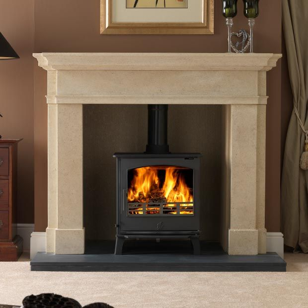 Sandstone Fireplace Surround | Go Back > Gallery For > Stone Fireplace  Surrounds - 25+ Best Ideas About Stone Fireplace Surround On Pinterest Stone