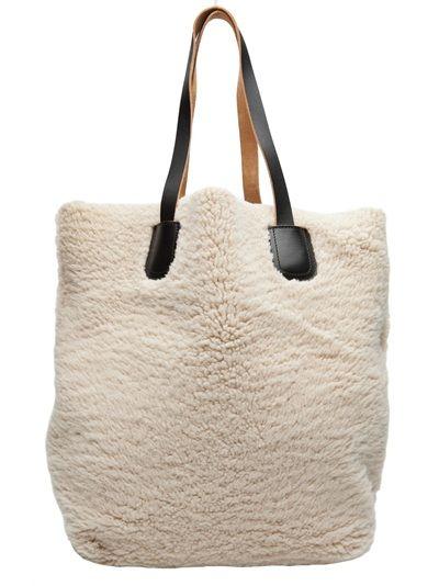 MARNI - Shearling bag 1