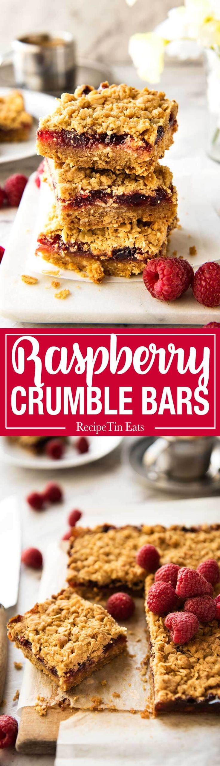 Easiest Ever Raspberry Jam Bars