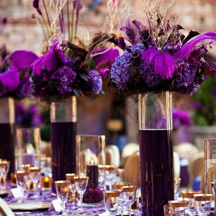 Purple Weddings Ideas: 63 Best Images About Purple Weddings On Pinterest