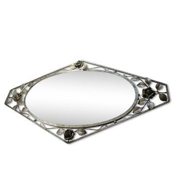 Miroir art nouveau fer forgé