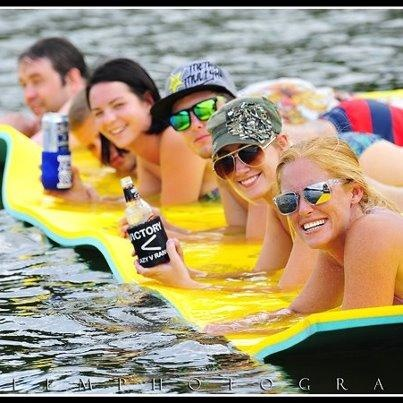 Aqua Lily Pad, Floating Water Mat, for rest and relaxation on the LAKE