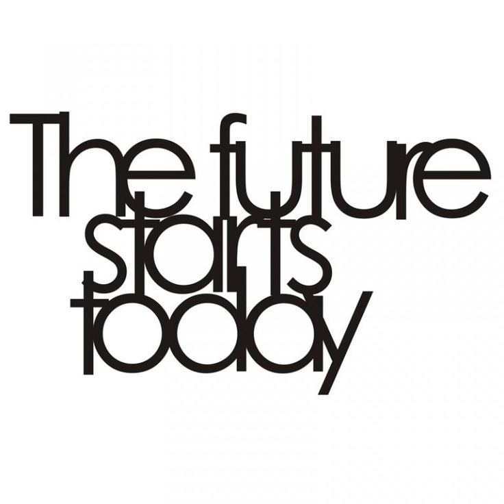 Dekor ścienny The Future - DECORTIS