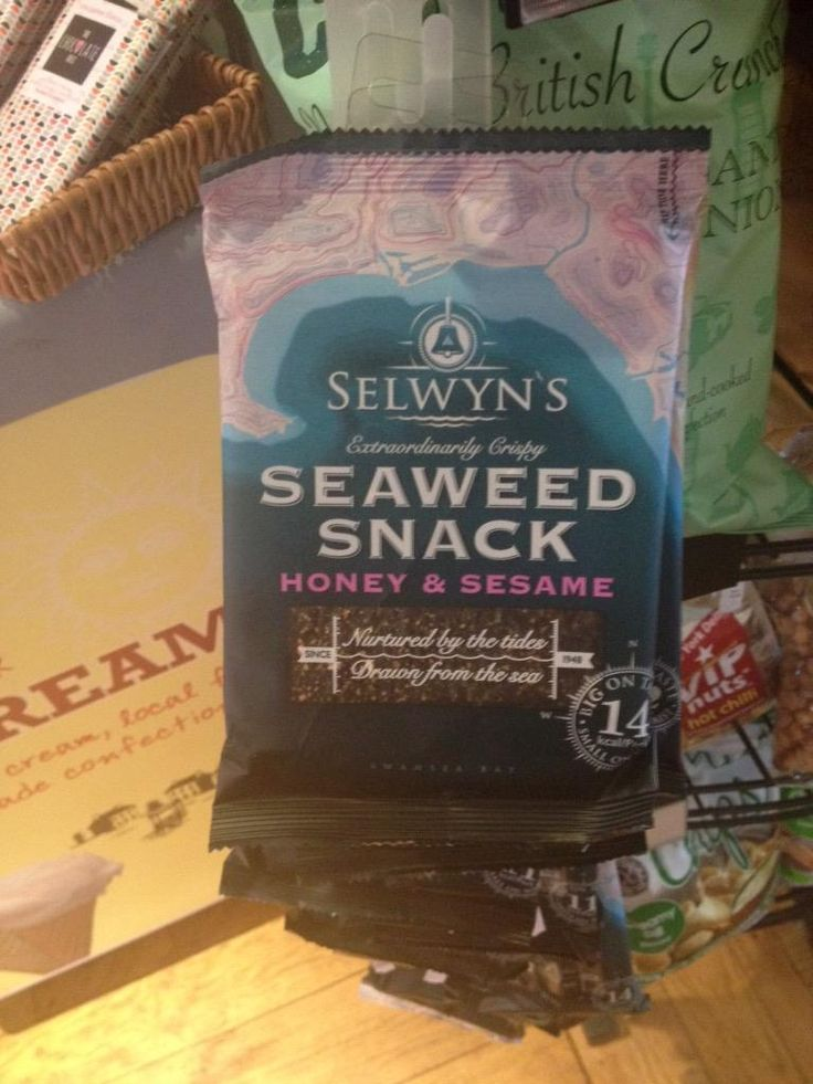 We're giving these a try #seaside #seaweed #snacks & only 11-14 calories #whatdoyourhink?