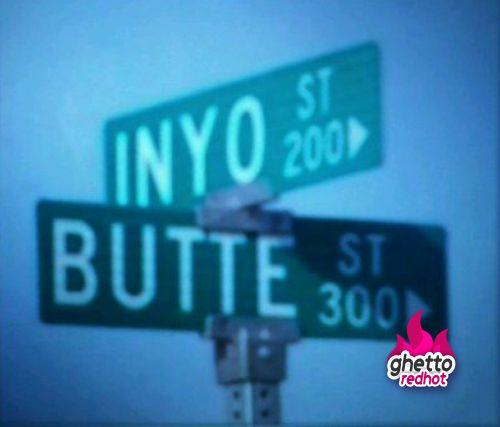 Ghetto street sign fail