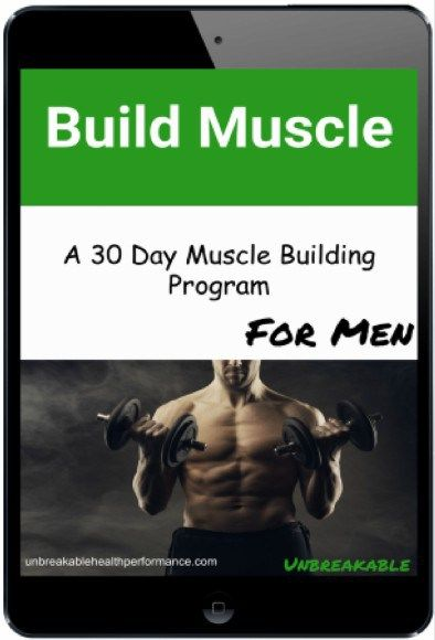 This guide is going to show all men how to build as much muscle as possible in just 30 days. For far too long men have been convinced into believing a lie that you need extreme workouts and diets to build muscle....this is wrong!