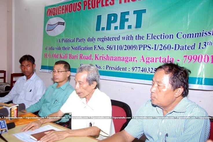 IPFT held Press meet at Press Club Agartala on 17 June 2016 http://www.tripuraindia.com/