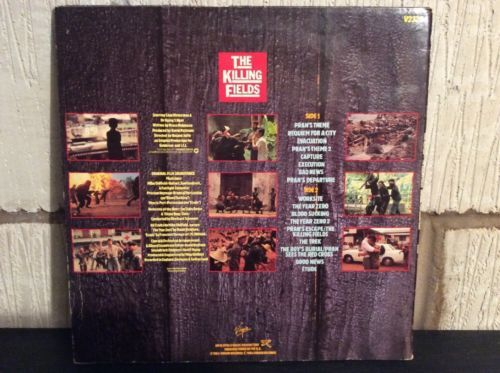 The Killing Fields Mike Oldfield OST V2328 80's Film Soundtrack Virgin Music:Records:Albums/ LPs:Soundtracks/ Themes:Film