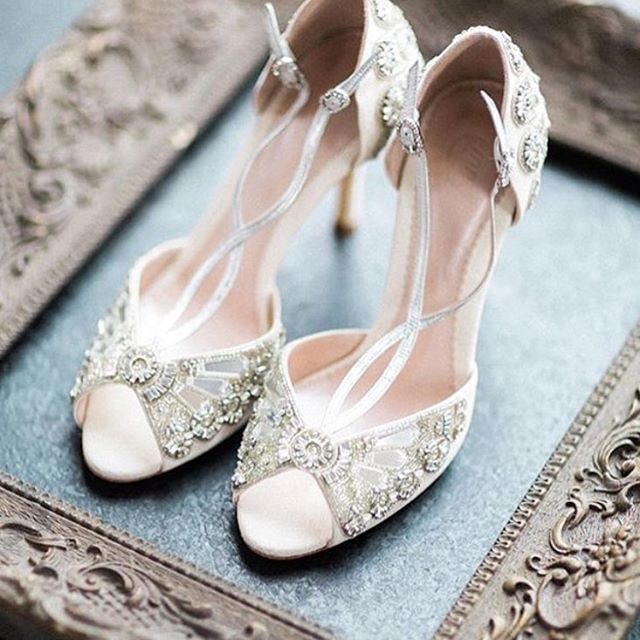 We Carry EmmyLondon In Our Kleinfeld Shoe Boutique