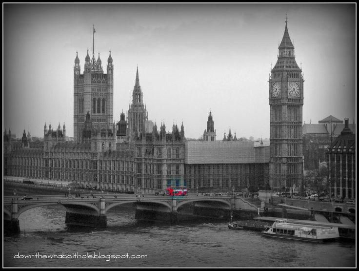 """View Big Ben and the British Parliament Buildings from the London Eye. Find out more at """"Down the Wrabbit Hole - The Travel Bucket List"""". Click the image for the blog post."""