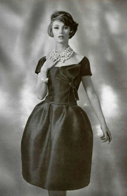 1961 Dior | inspiration for Celeste Mortinné's everyday style @ the last canvas online novel