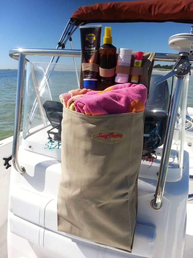 1 Pocket Boat Storage / Boat Organizer Bag – SurfmonkeyGear