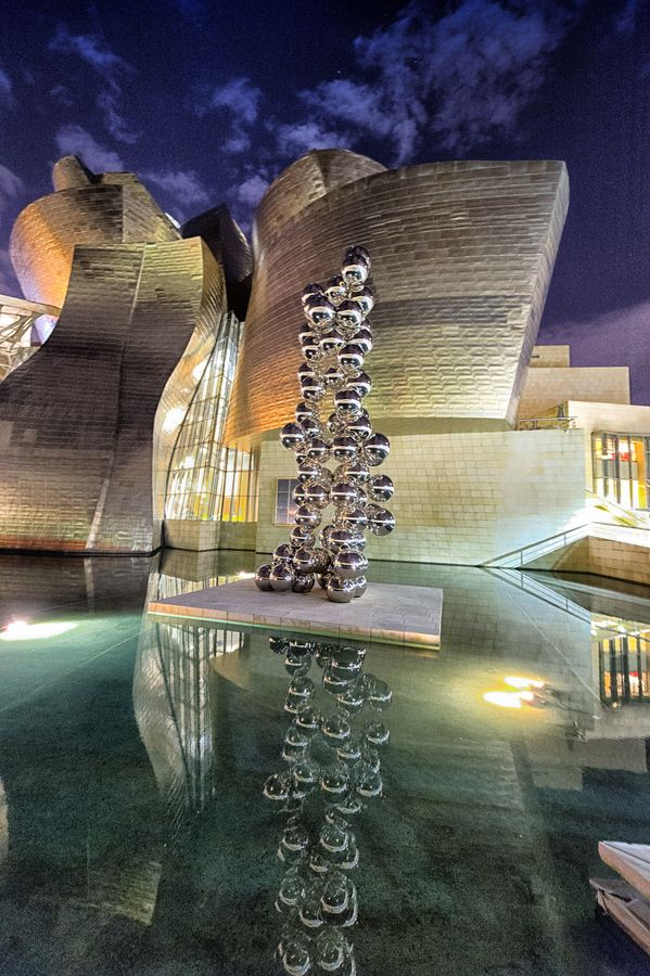 Guggenheim, Shapes & Reflections
