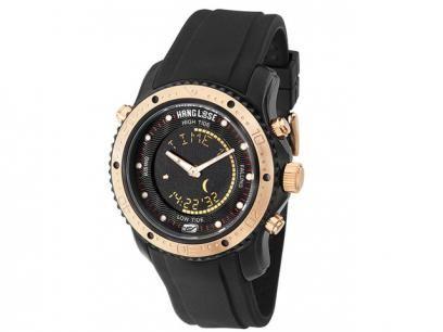 Relógio Masculino Hang Loose HL 10008 P - Anadigi Resistente à Água                                                                                                                                                                                 Mais