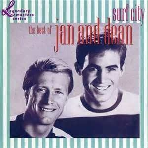 """Jan and Dean, (Jan Berry and Dean Torrence), """"Surf City"""""""