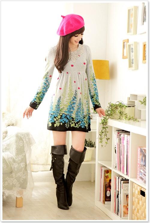 Online Shopping Malaysia Korean Fashion Dress Online 17