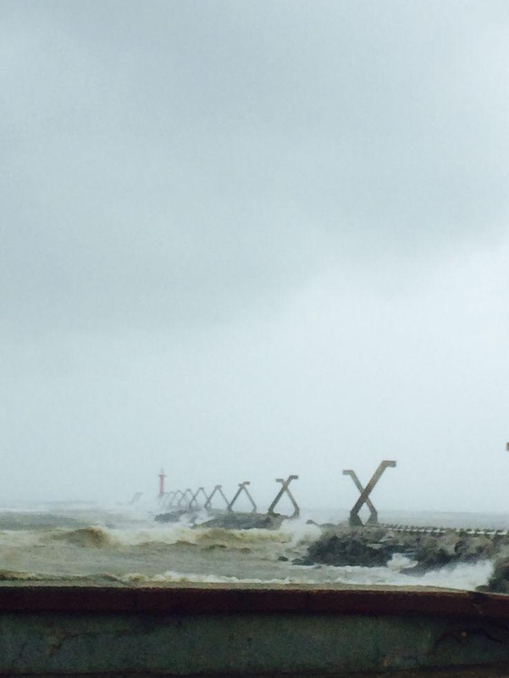 Coatzacoalcos, Veracruz. Y el viento del norte!