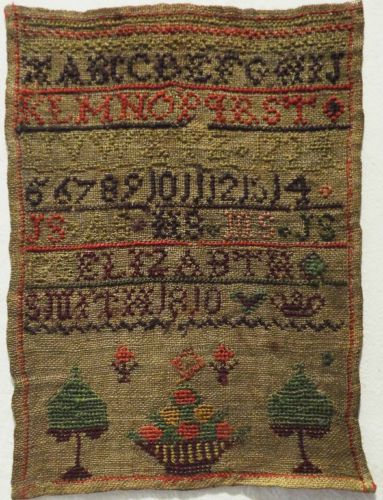 Small Early 19th Century Sampler by Elizabeth Smith 1810 | eBay