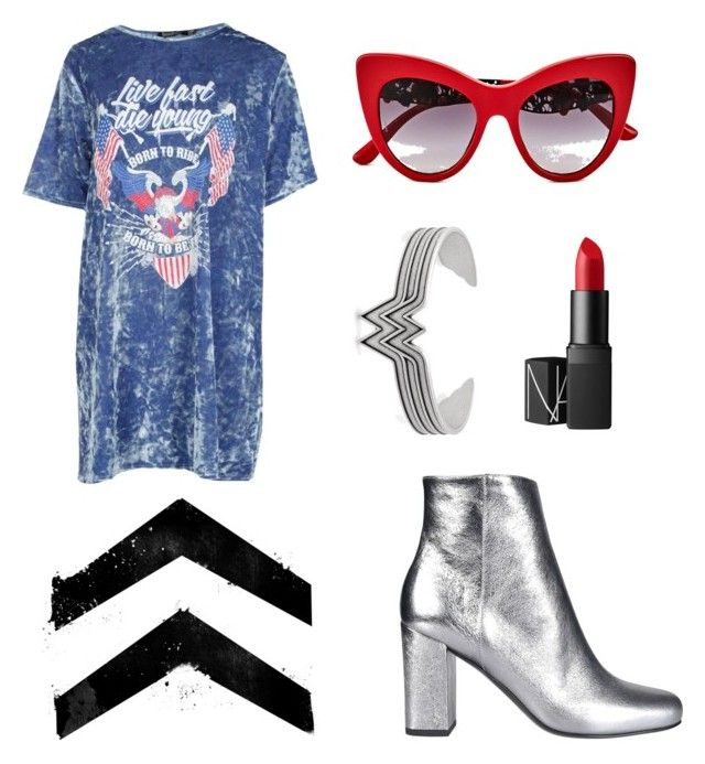 6/6/17 by jordan-armstrong-pitt on Polyvore featuring polyvore, мода, style, Boohoo, Yves Saint Laurent, Alex and Ani, Dolce&Gabbana, NARS Cosmetics, fashion and clothing